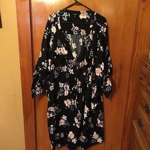 TORRID zip front shirt dress, 5X